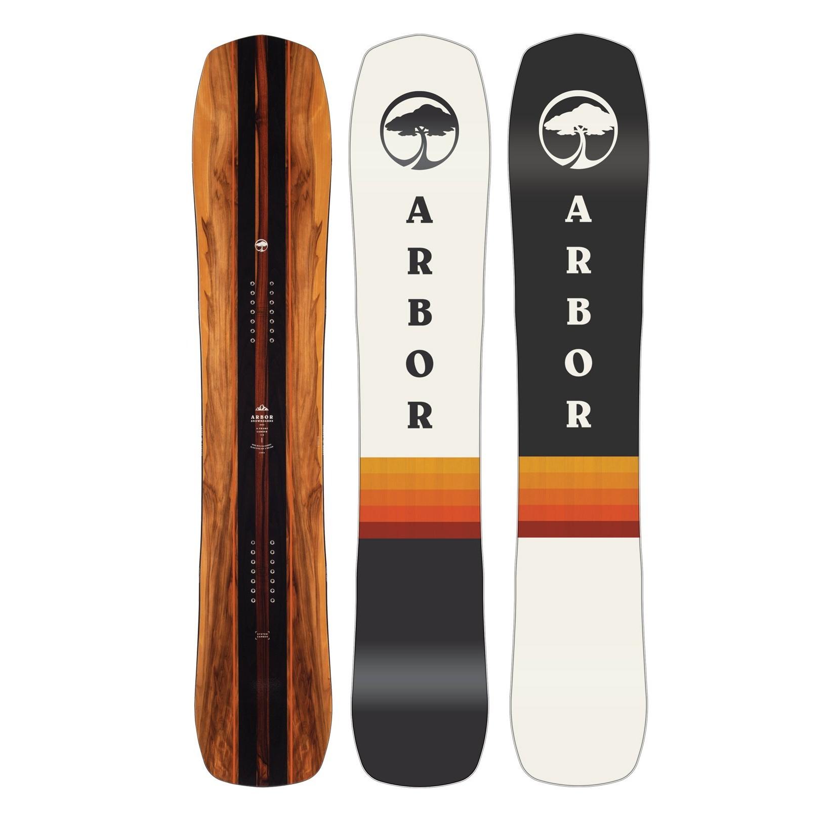 Placa snowboard Unisex Arbor A-Frame 20/21 imagine