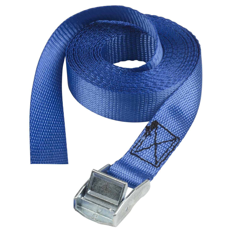 Chinga reglabila cu catarama metalica Master Lock 2.50mmx25mm pentru prindere obiecte Albastra imagine