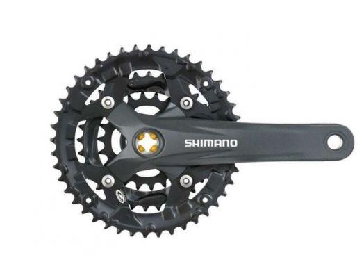 Angrenaj pedalier Shimano Acera FC-M391-L 48x36x26T 170mm 9V imagine