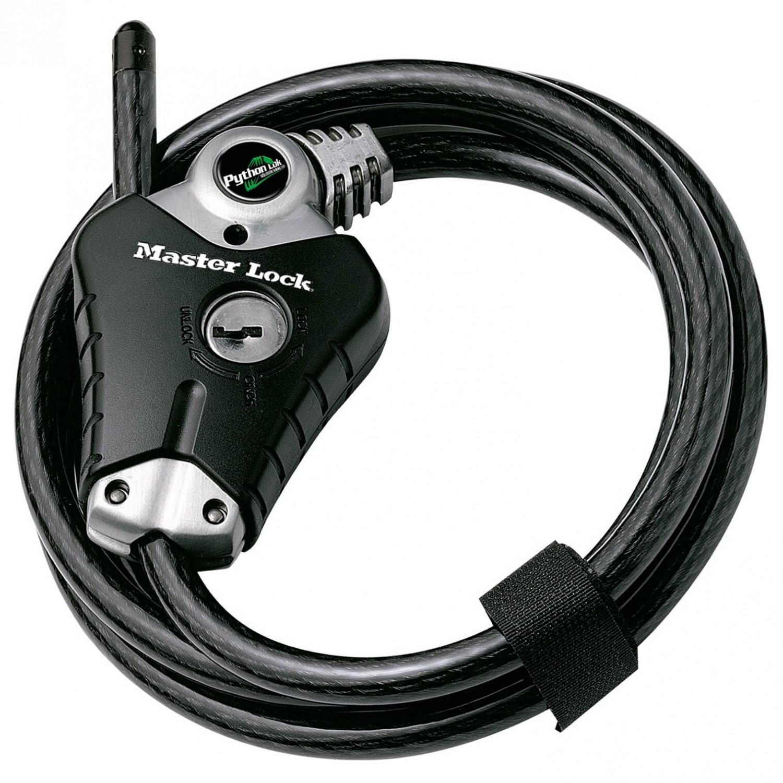 Antifurt Master Lock cablu Python 1.8m x 10mm Negru imagine