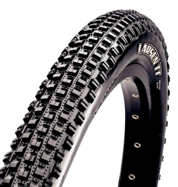 Anvelopa Maxxis 26X2.00 LarsenTT 120TPI Pliabila Lust Tubless imagine