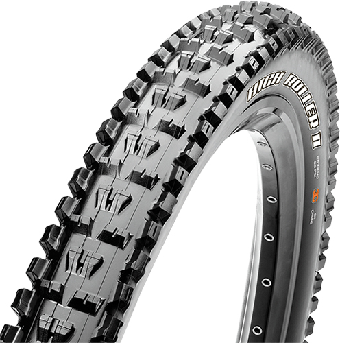Anvelopa Maxxis 27.5X2.40 High Roller II M60 60x2TPI wire SuperTacky imagine