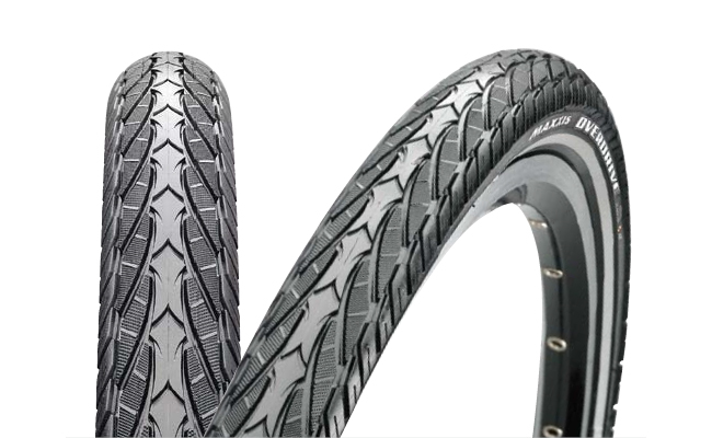 Anvelopa Maxxis 700X38C Overdrive 60TPI single wire Kevlar Inside imagine