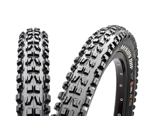 Anvelopa Maxxis Minion DHF 3C EXO TR 60TPI foldabil Downhill 27.5X2.50 imagine