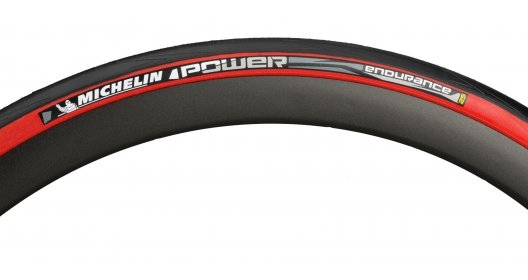 Anvelopa Michelin Power Endurance Rosu 700x25 imagine