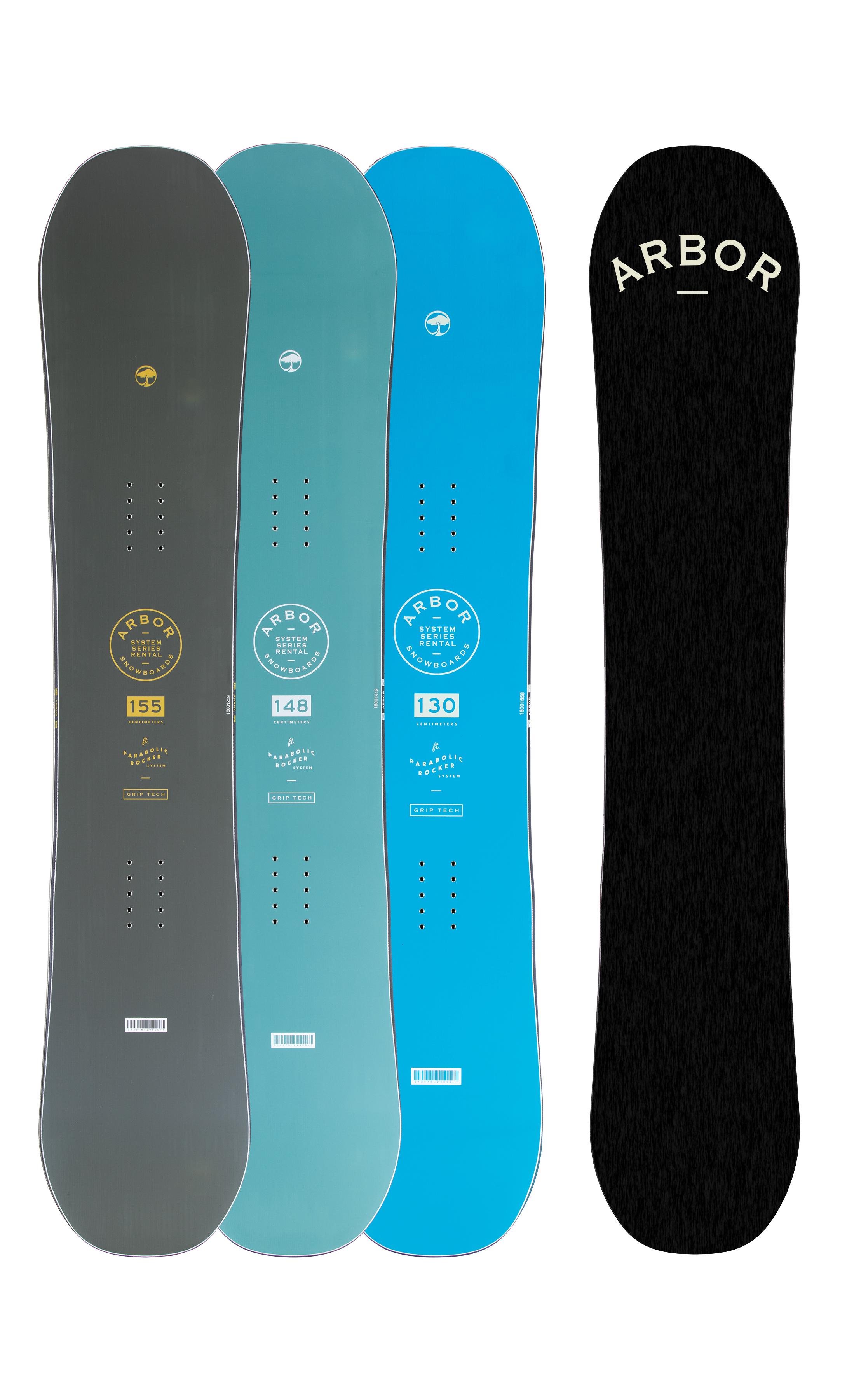 Placa snowboard Unisex Arbor System Rental 20/21 imagine