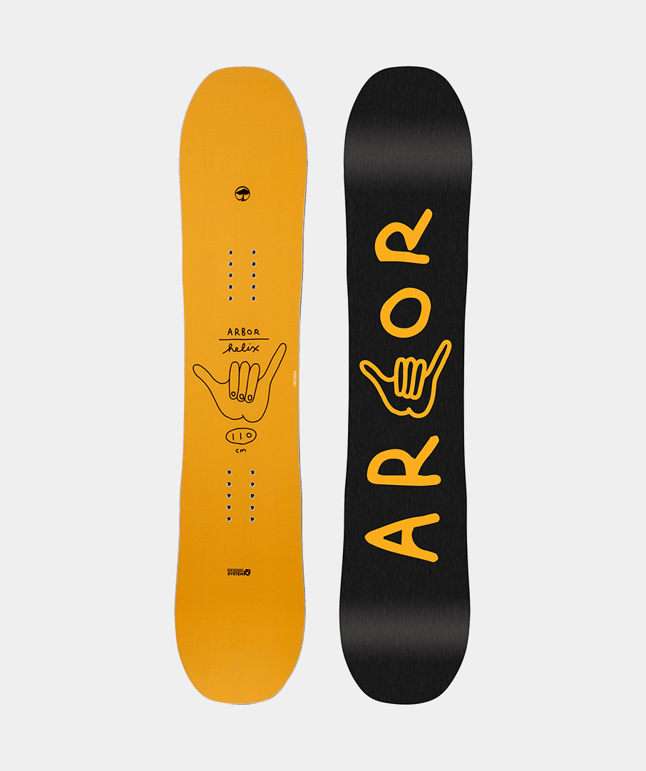 Placa snowboard copii Arbor Helix 2019 imagine
