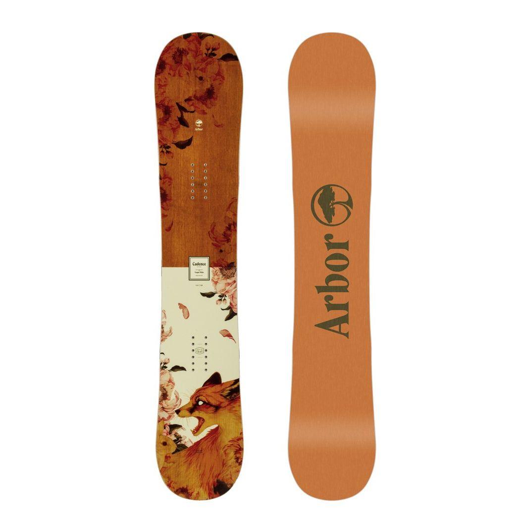 Placa snowboard Femei pentru Freestyle/All Mountain Arbor Cadence Rocker 2020 imagine