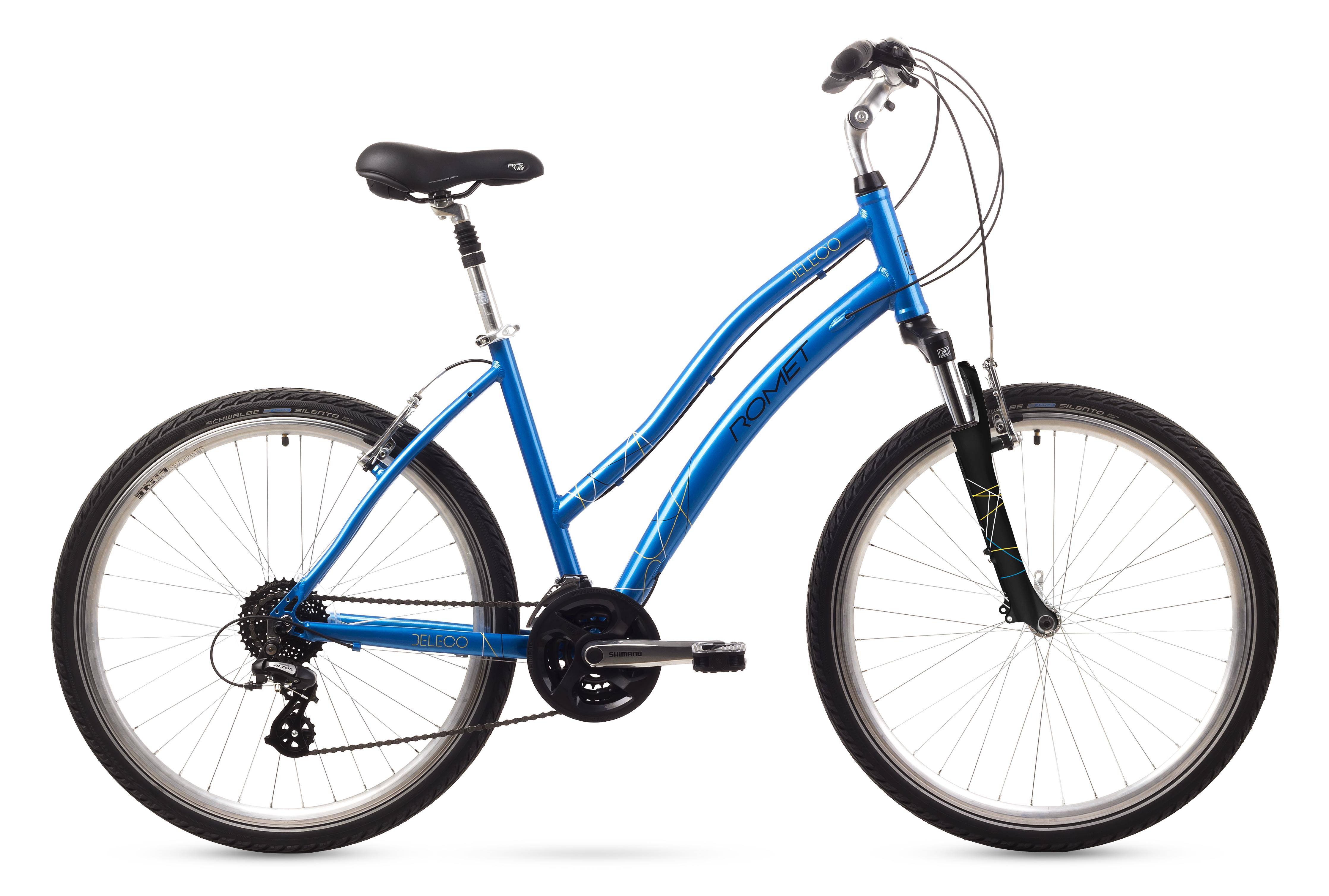 Bicicleta de oras Romet BELECO Albastru 2016 imagine