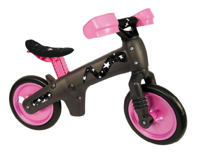 Bicicleta pentru copii fara pedale Bellelli B-Bip roz imagine