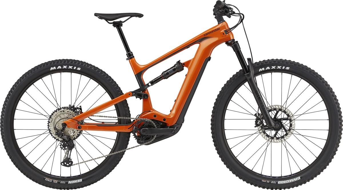 Bicicleta electrica Cannondale Habit Neo 2 Portocaliu 2021 imagine