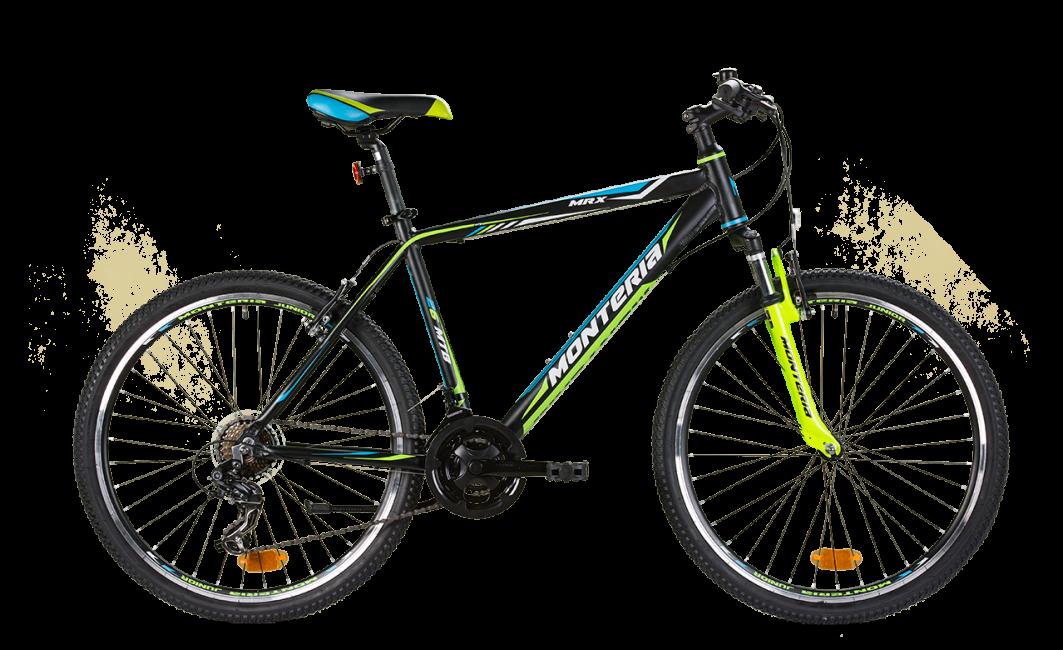 Bicicleta de munte Romet Monteria MRX Negru/Verde imagine