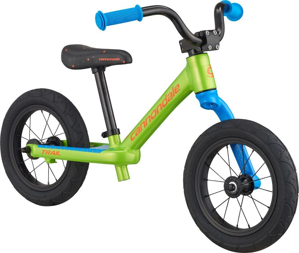 Bicicleta fara pedale pentru copii Cannondale Trail Balance 12 Verde 2019 imagine