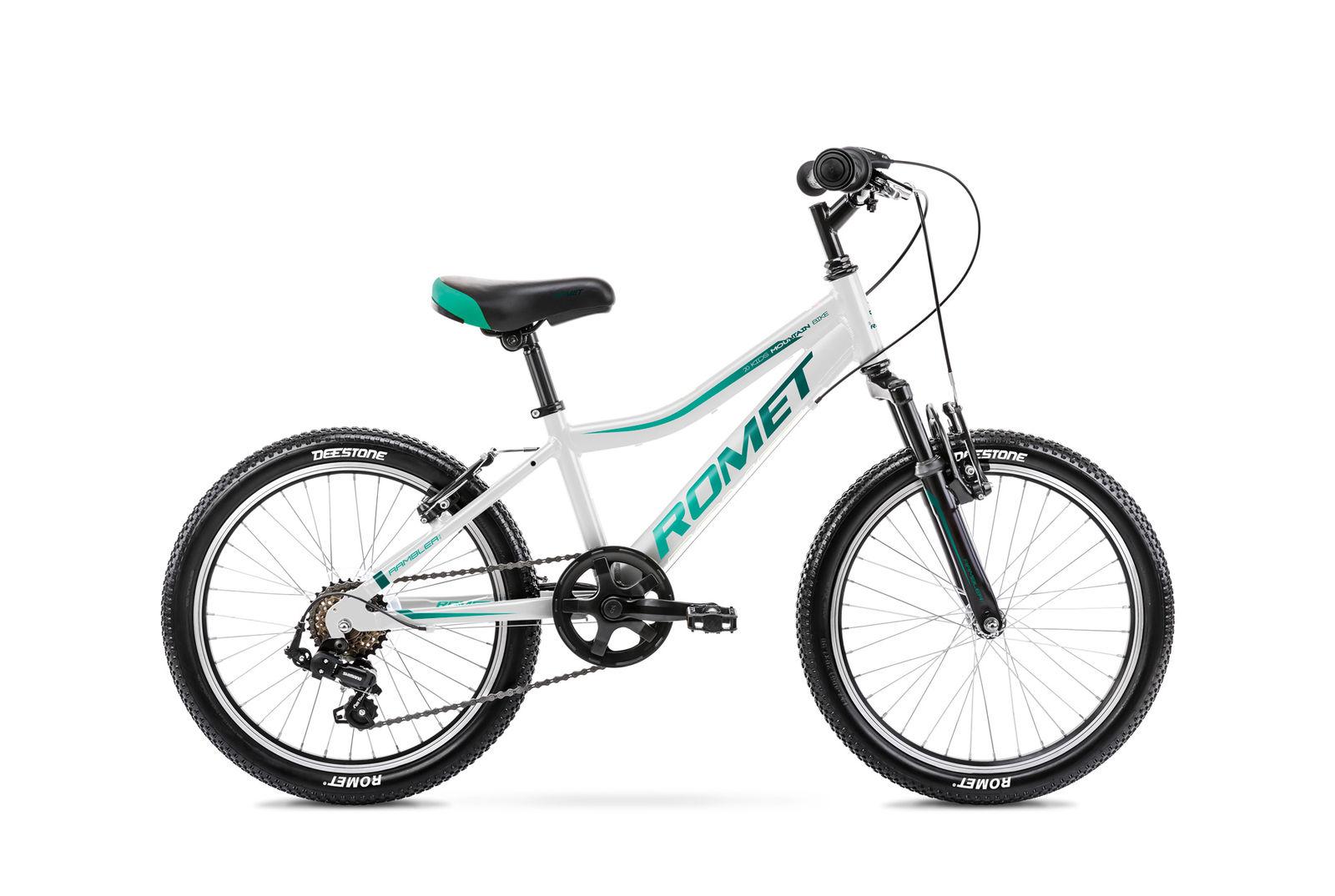 Bicicleta pentru copii Romet Rambler 20 Kid 2 S/10 Alb/Albastru 2021 imagine