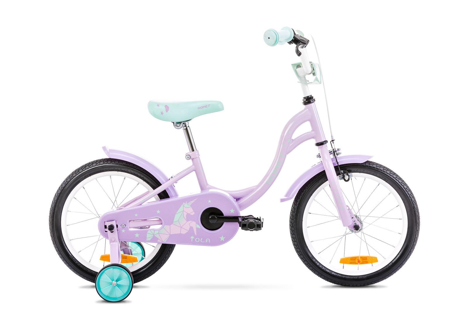 Bicicleta pentru copii Romet Tola 16 S/9 Roz/Turcoaz 2021 imagine