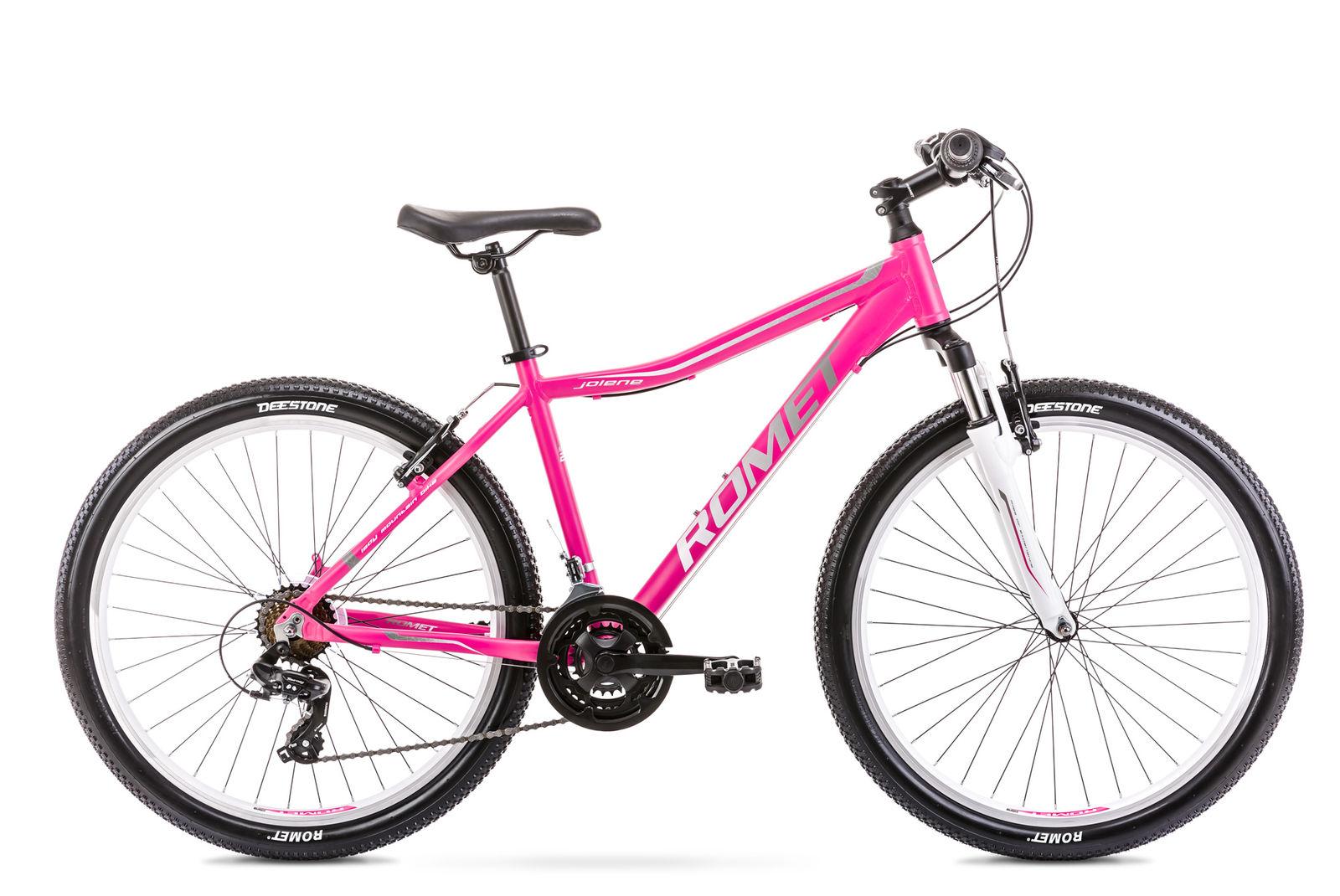 Bicicleta de munte pentru femei Romet Jolene 6.0 Roz/Gri 2021 imagine