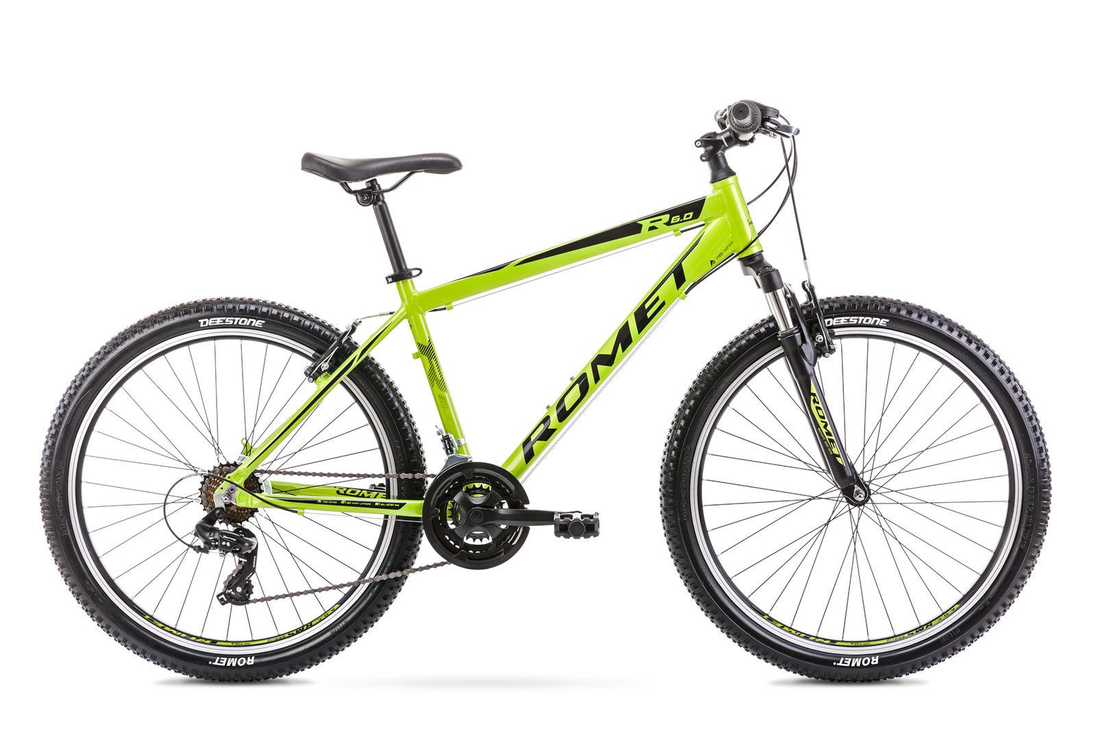 Bicicleta de munte pentru barbati Romet Rambler R6.0 Verde lime 2021 imagine