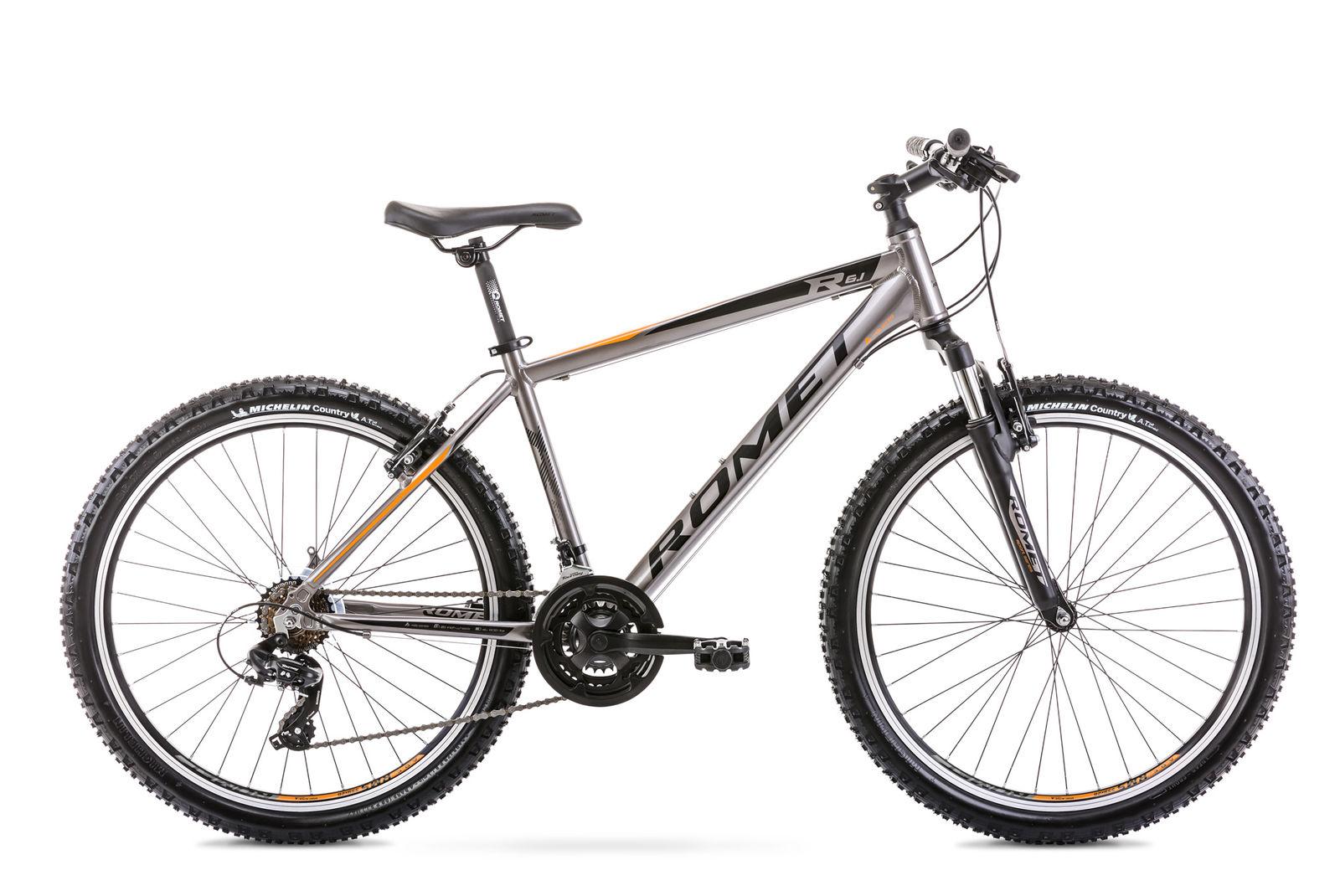 Bicicleta de munte pentru barbati Romet Rambler R6.1 Grafit 2021 imagine