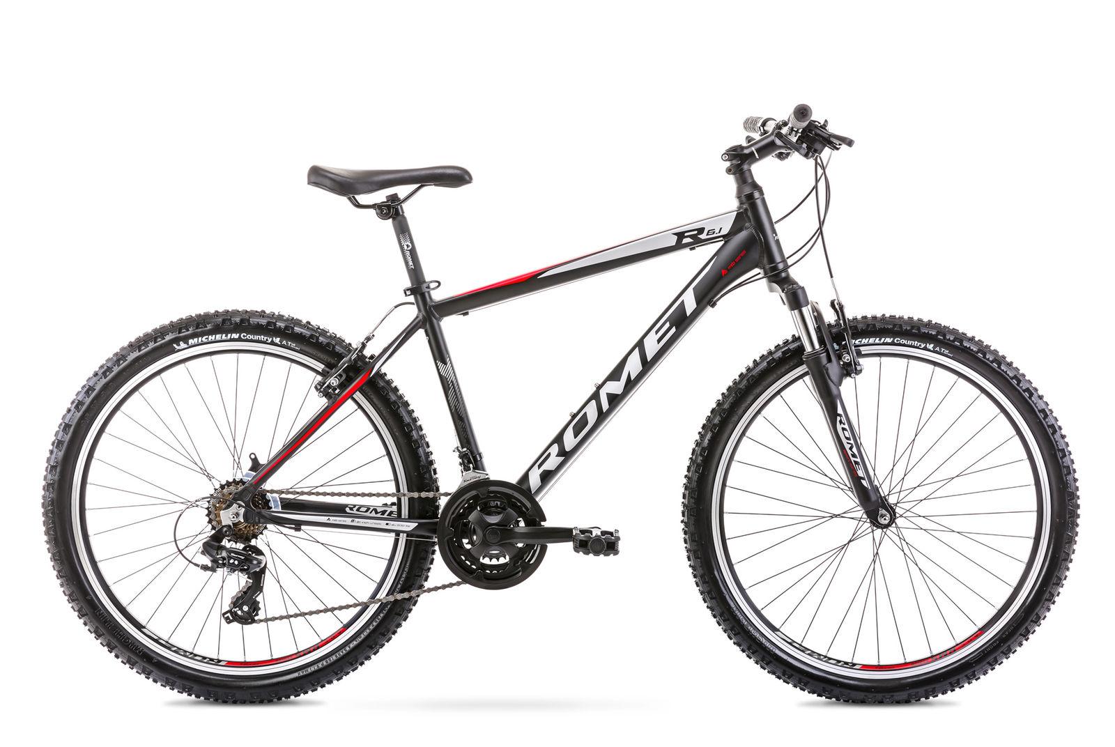 Bicicleta de munte pentru barbati Romet Rambler R6.1 Negru 2021 imagine