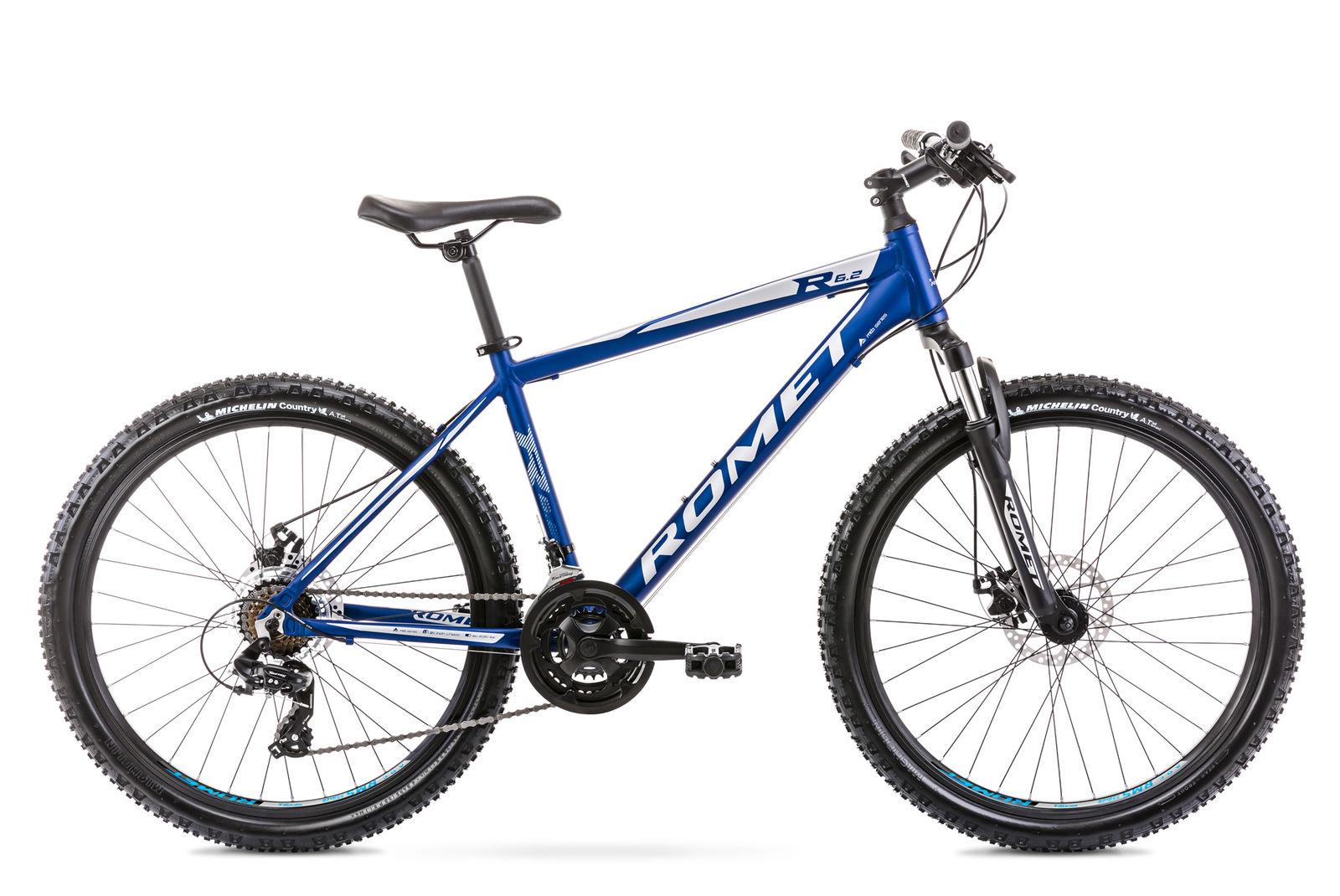 Bicicleta de munte pentru barbati Romet Rambler R6.2 Albastru 2021 Romet
