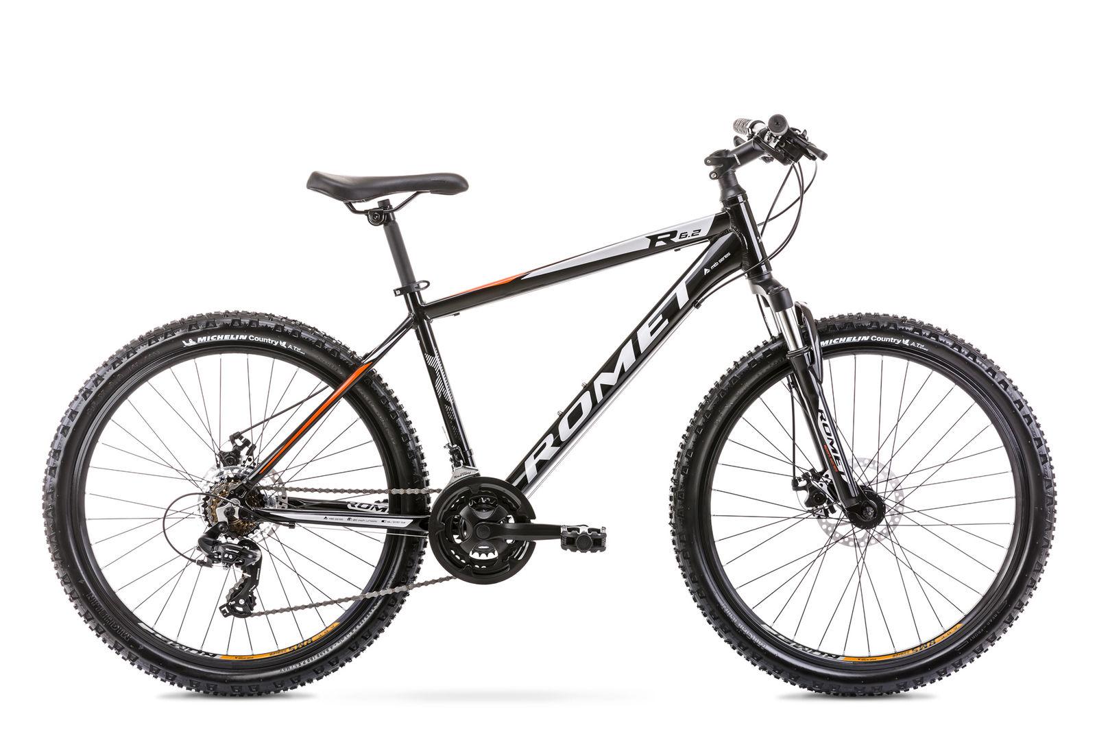 Bicicleta de munte pentru barbati Romet Rambler R6.2 Negru 2021 imagine