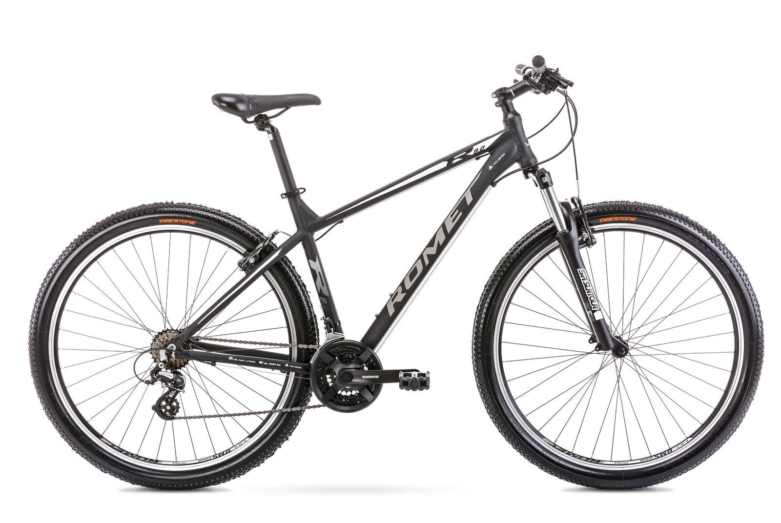 Bicicleta de munte pentru barbati Romet Rambler R9.0 Negru 2021 imagine