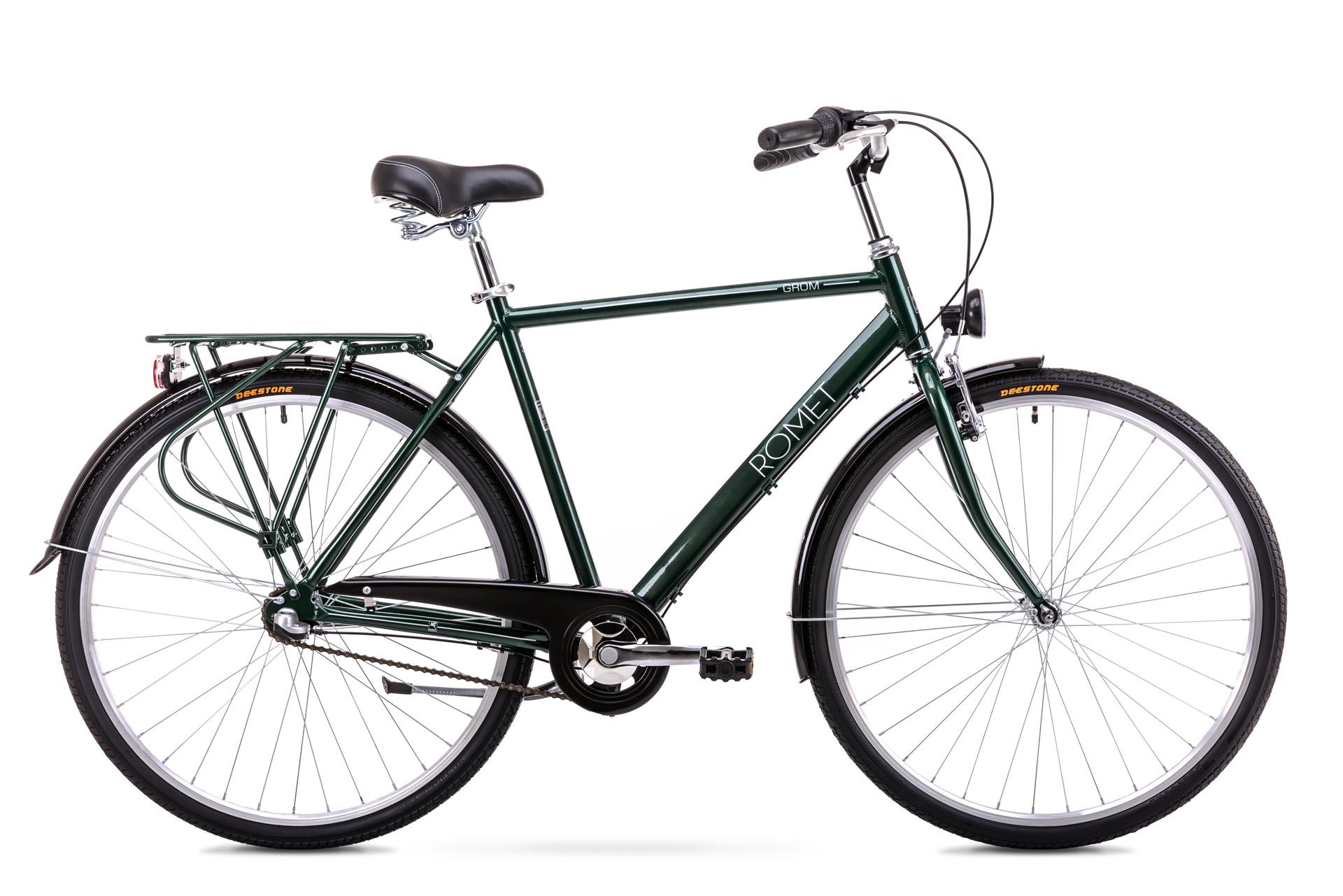Bicicleta de oras pentru Barbati Romet Grom 3S Verde 2019 Romet