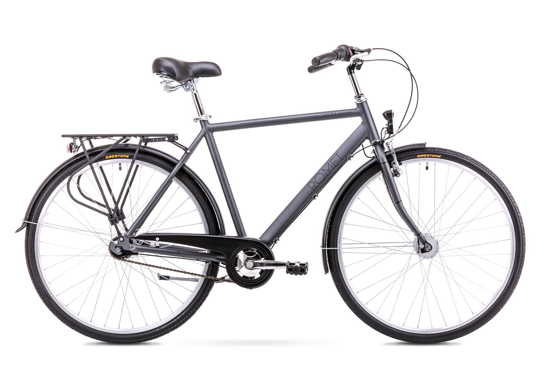 Bicicleta de oras pentru Barbati Romet Grom 7S Grafit 2019 imagine