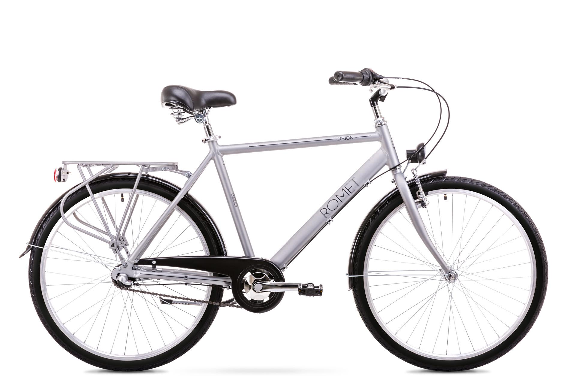 Bicicleta de oras pentru Barbati Romet Orion 3S Argintiu 2019 imagine