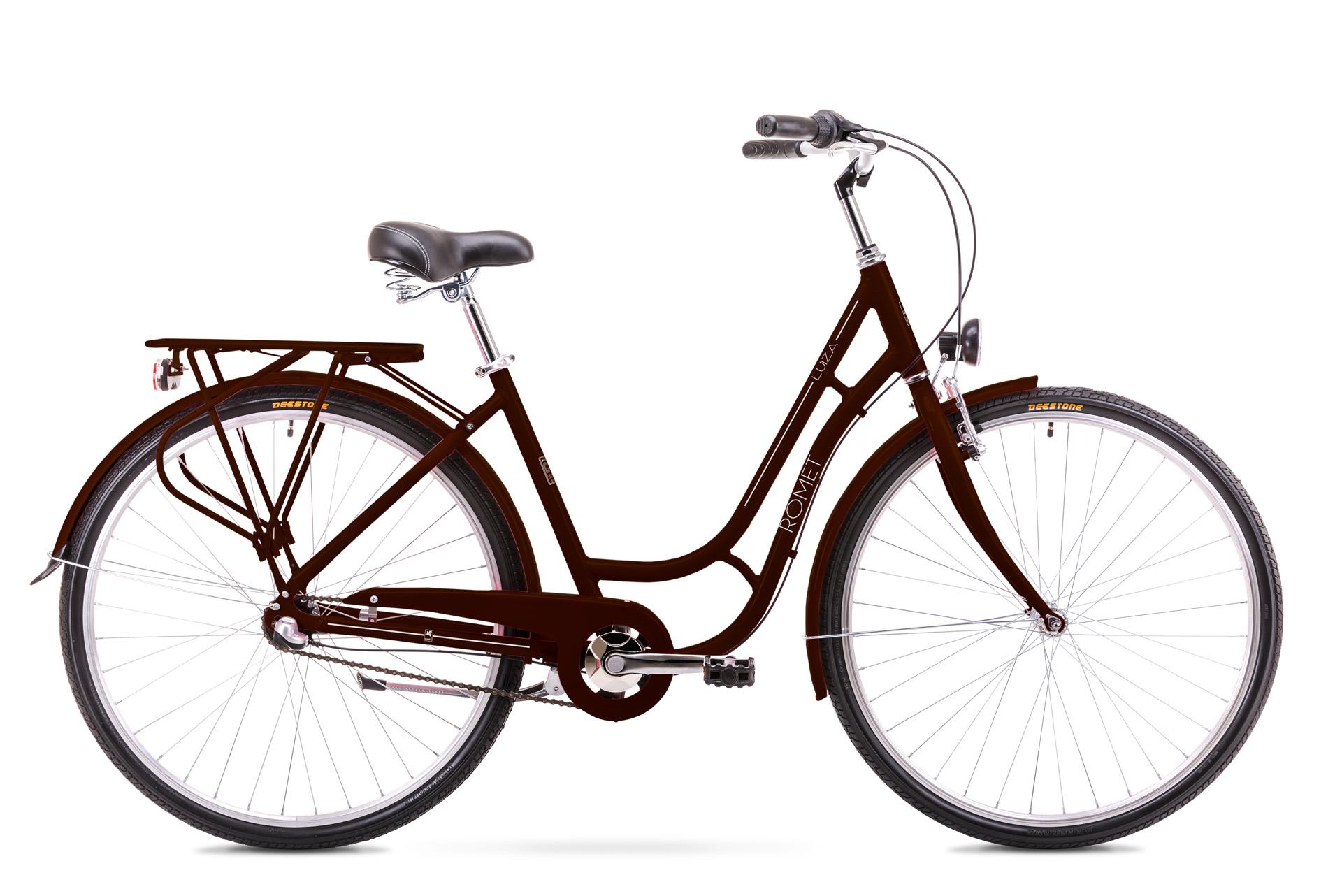 Bicicleta de oras pentru Femei Romet Luiza 3S Maro 2019 imagine
