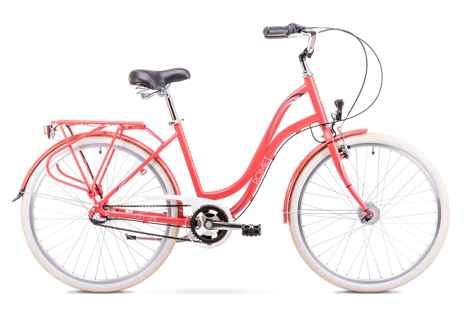 Bicicleta de oras pentru Femei Romet Pop Art 26 Rosu 2019 imagine