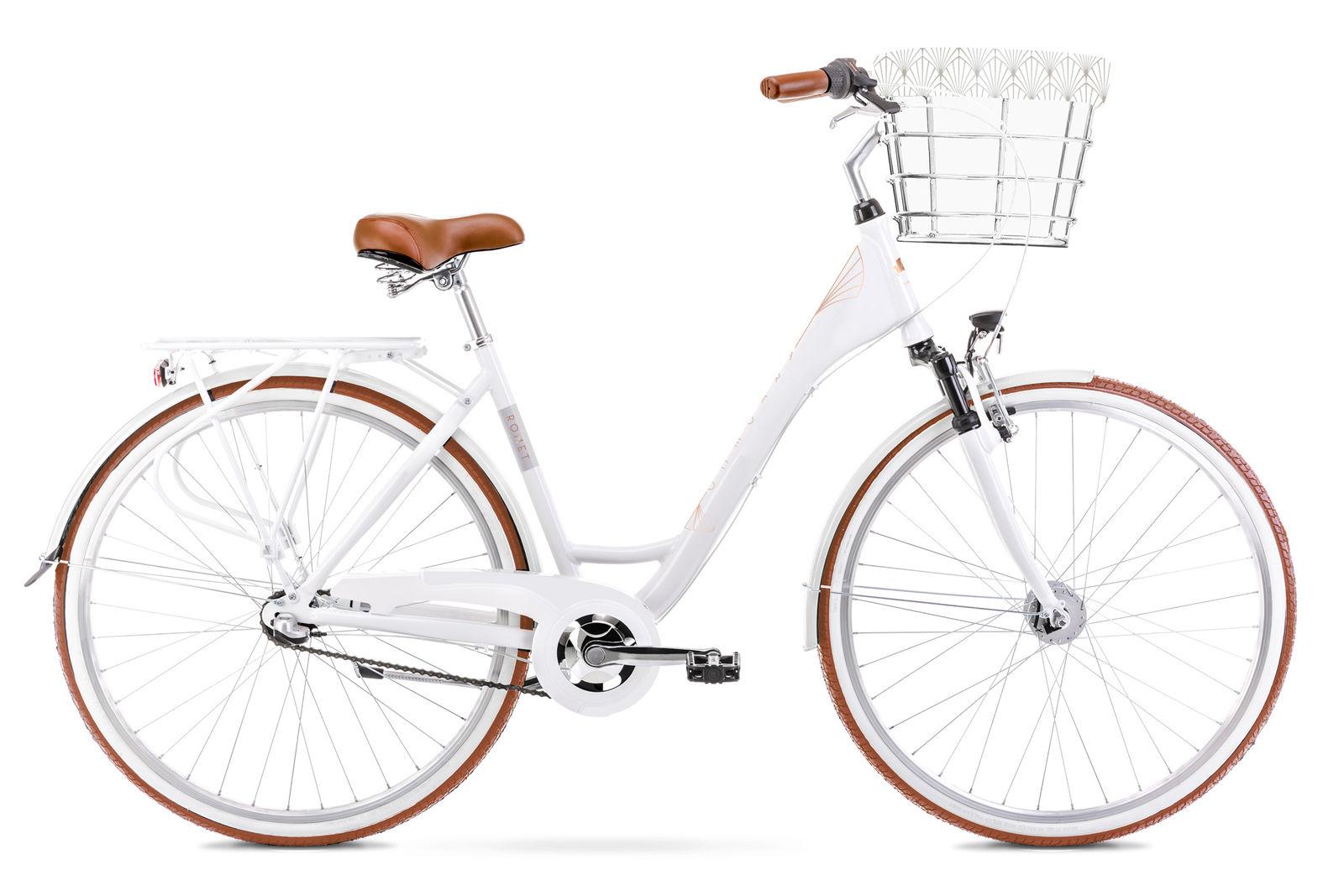 Bicicleta de oras pentru femei Romet Art Deco Classic Alb 2021 imagine