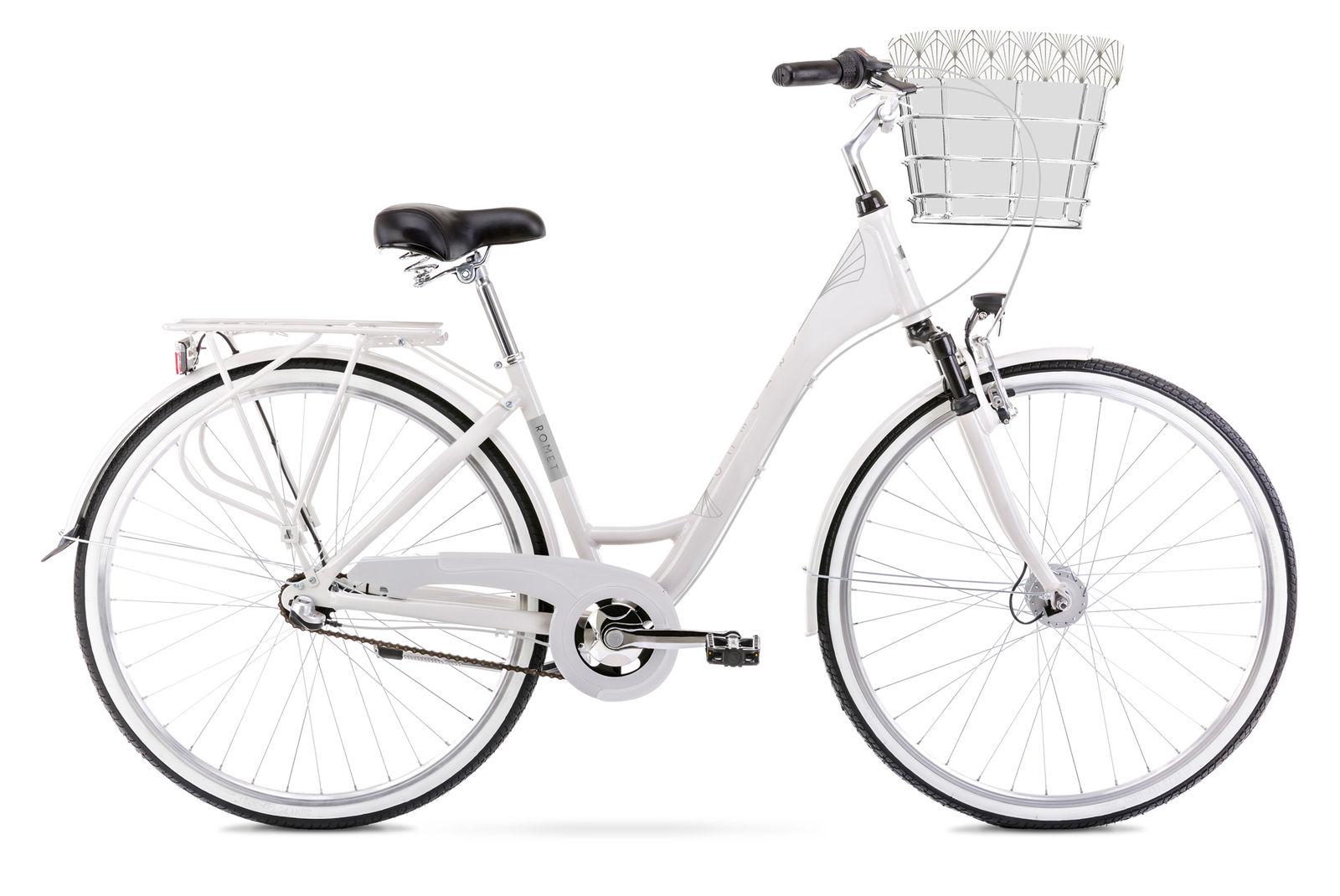Bicicleta de oras pentru femei Romet Art Deco Classic Gri 2021 imagine
