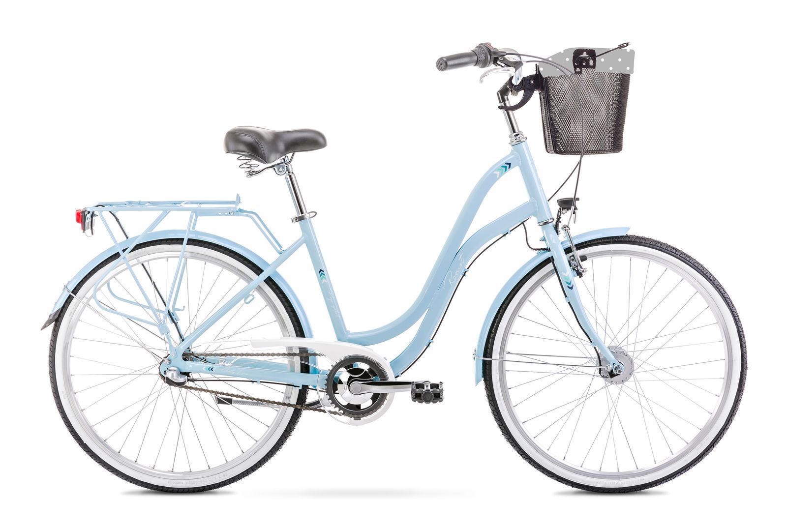 Bicicleta de oras pentru femei Romet Pop Art 26 Albastru 2021 imagine