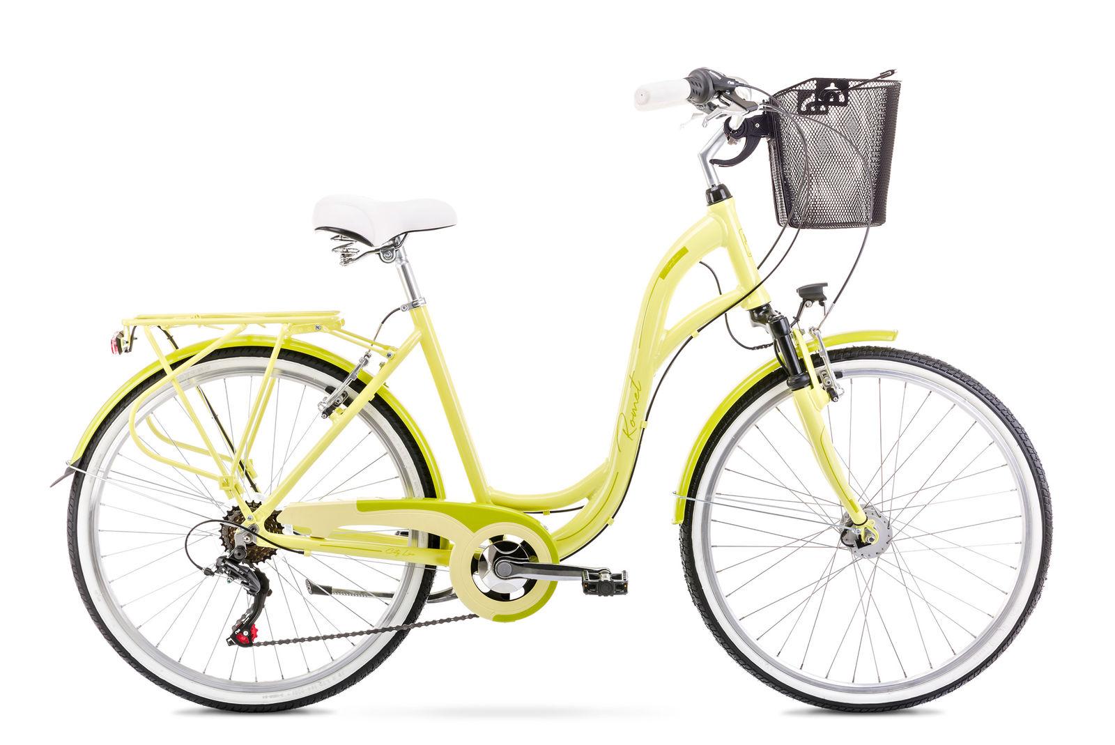 Bicicleta de oras pentru femei Romet Symfonia 1 Verde deschis 2021 imagine
