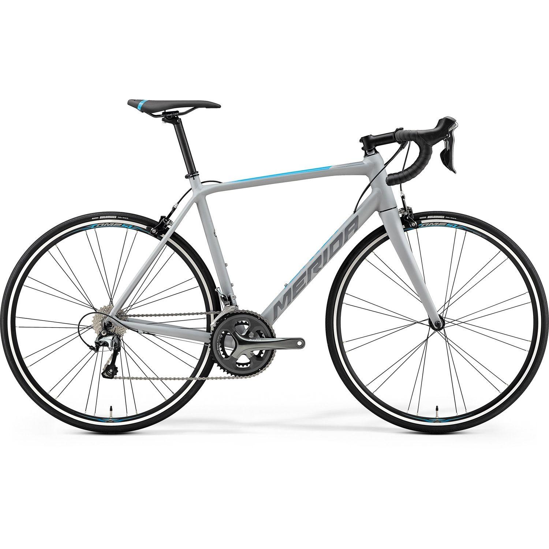Bicicleta de sosea pentru barbati Merida Scultura 300 Gri mat(Albastru) 2019 imagine