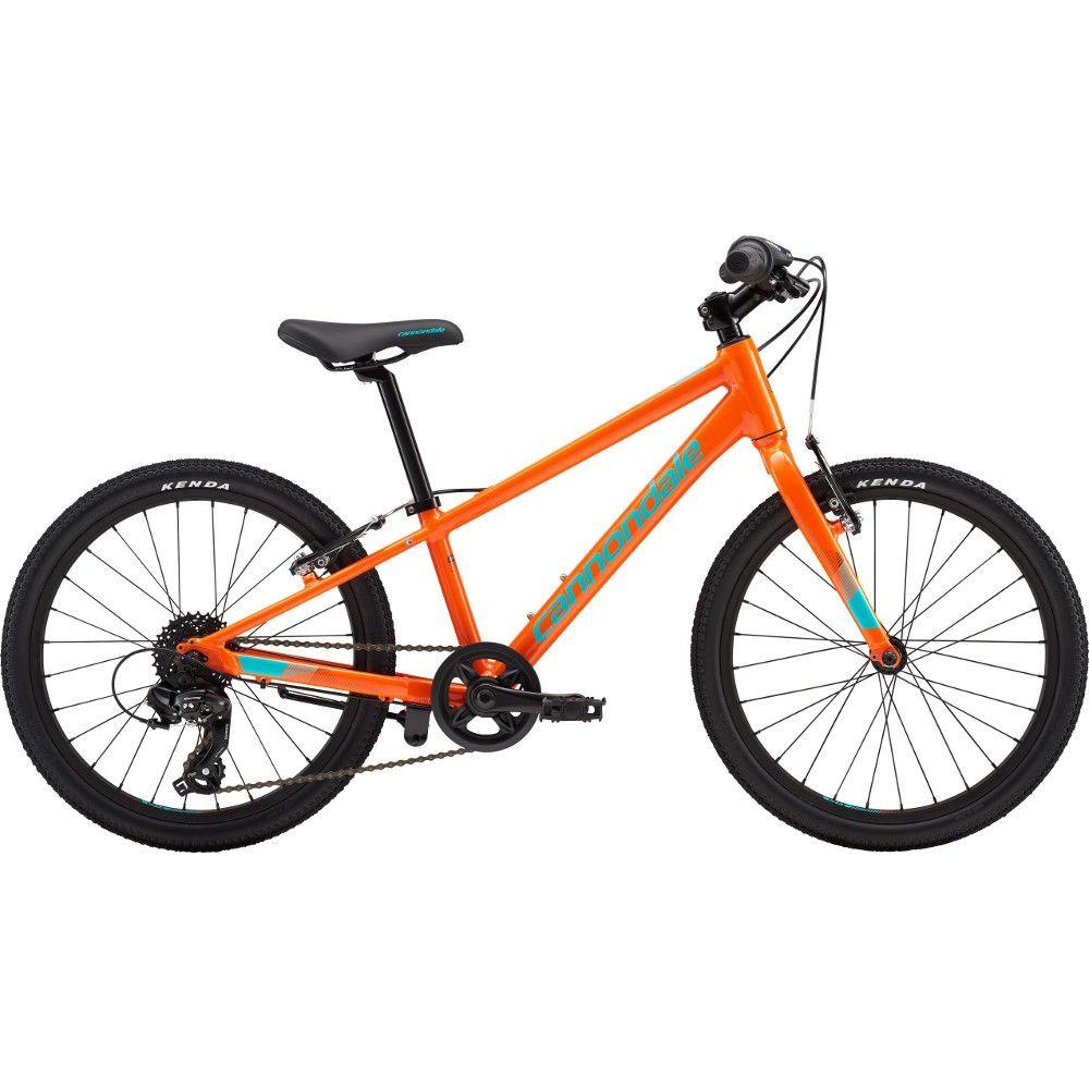 Bicicleta urbana pentru copii Cannondale Quick 20 Portocaliu 2019 imagine