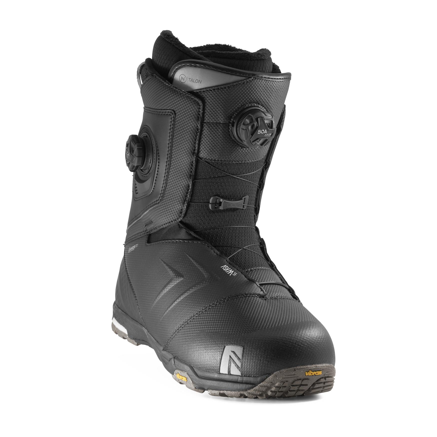 Boots snowboard barbati Nidecker Talon Focus Boa Negru 2020 imagine