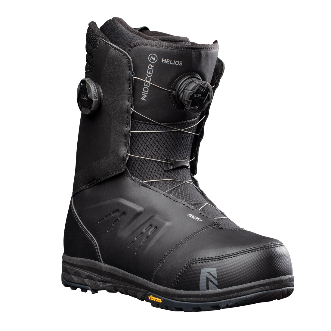 Boots snowboard Barbati Nidecker Helios Focus Boa Negru 20/21 imagine