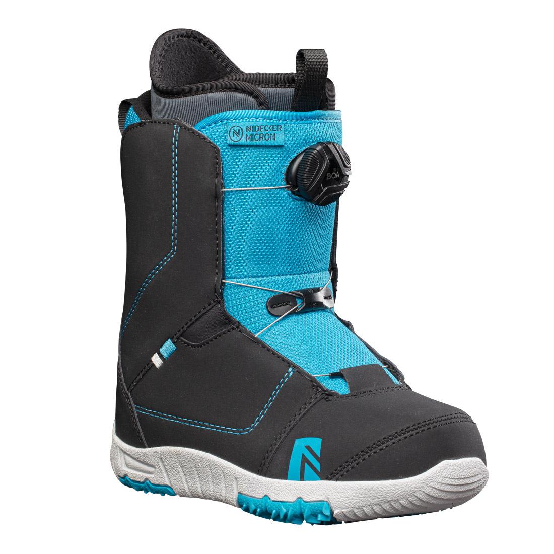Boots snowboard Copii Nidecker Micron Negru/Albastru 20/21 imagine