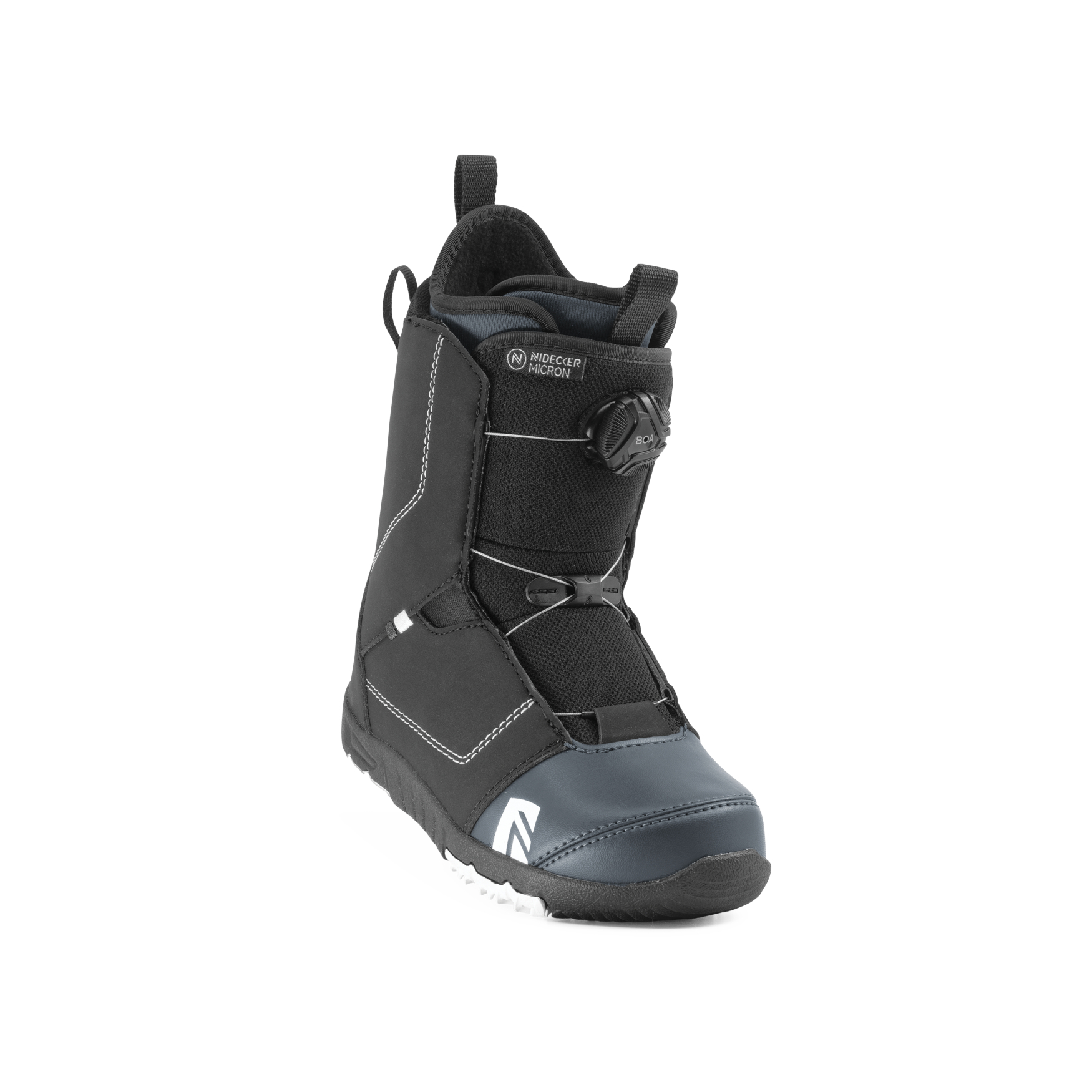 Boots snowboard copii Nidecker Micron Boa Negru 2020 imagine