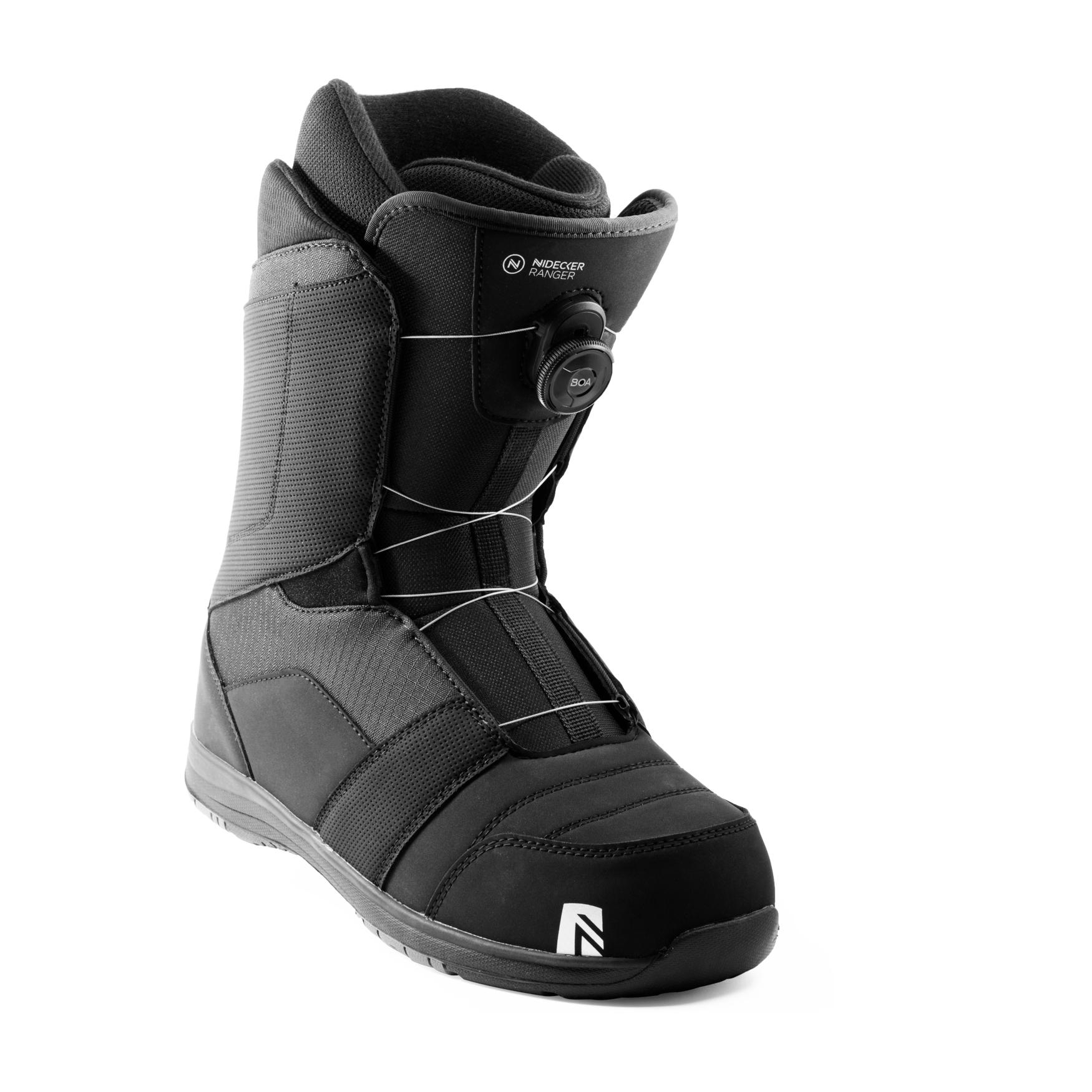 Boots snowboard barbati Nidecker Ranger Boa Negru 2020 imagine