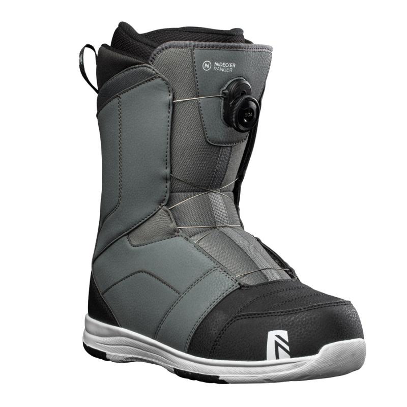 Boots snowboard Barbati Nidecker Ranger Gri 20/21 imagine