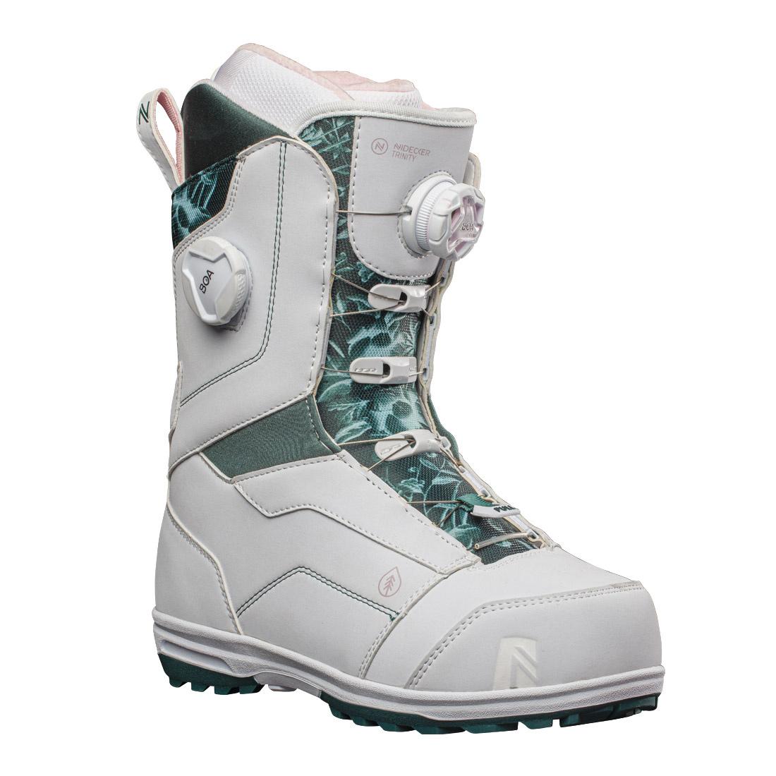 Boots snowboard Femei Nidecker Trinity Gri 20/21 imagine