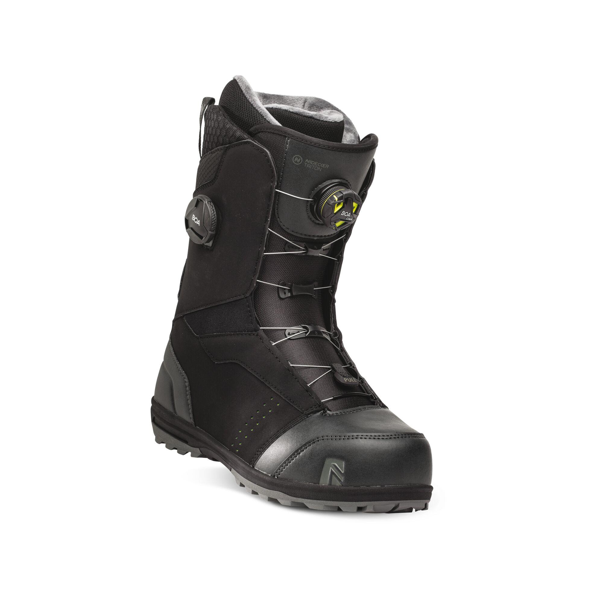 Boots snowboard Barbati Nidecker Triton Boa Focus Negru 20/21 imagine