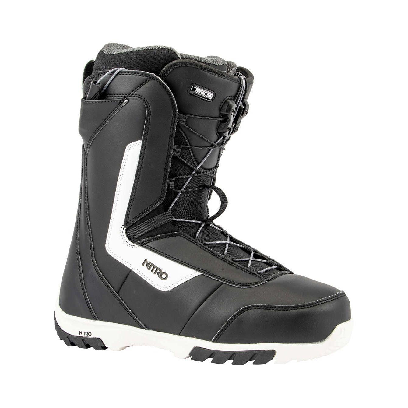 Boots snowboard barbati Nitro Sentinel TLS Negru/Alb 19/20 imagine