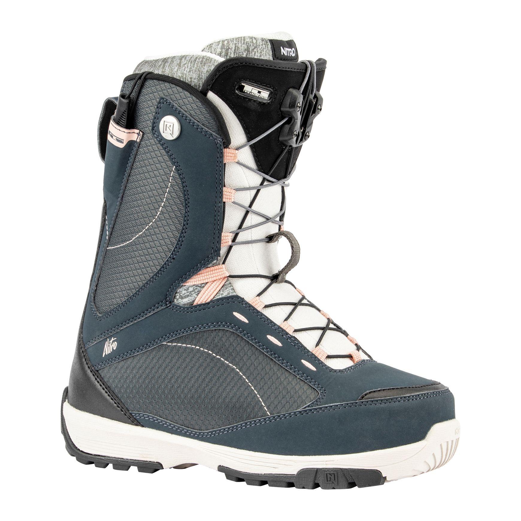Boots snowboard femei Nitro Monarch TLS Bleumarin 19/20 imagine