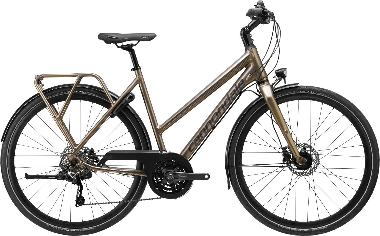 Bicicleta de oras Cannondale Tesoro Mixte 2 Gri meteor 2020 imagine