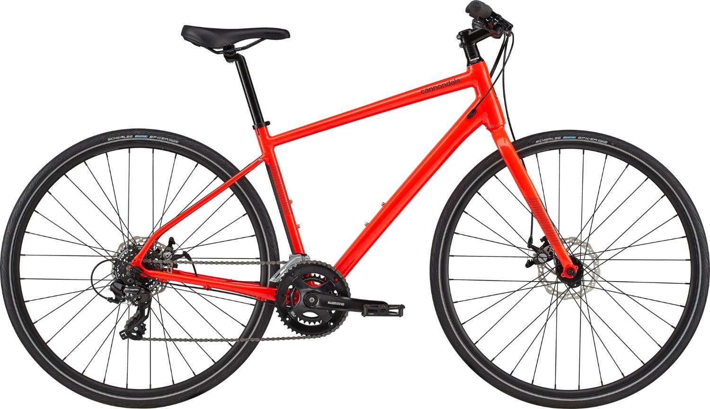 Bicicleta de oras Cannondale Quick 5 Rosu Acid 2020 imagine