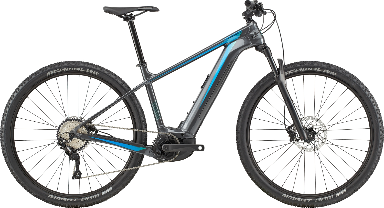 Bicicleta electrica Cannondale Trail Neo 2 Grafit/Turcoaz 2020 imagine